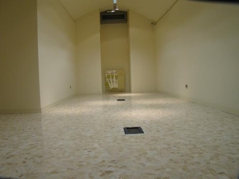 Pavimenti per atri e salotti in Crystalfloor