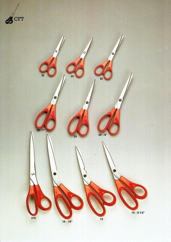 forbici professionali di varia dimensione 1
