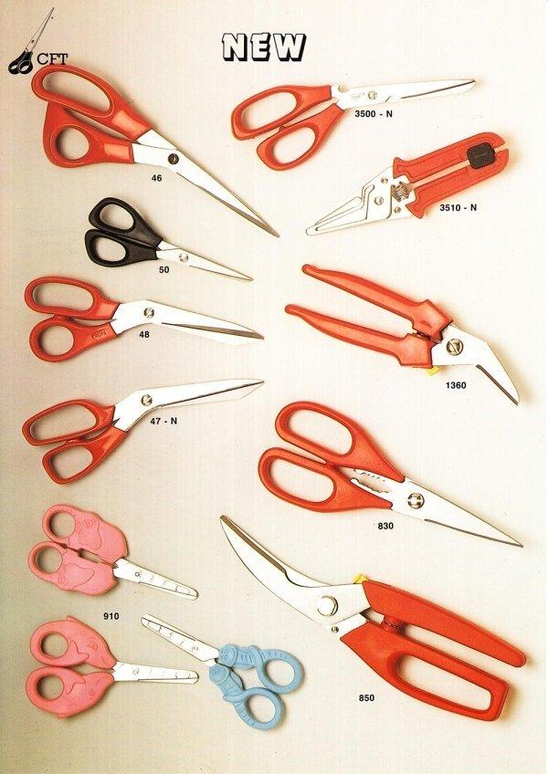 forbici professionali di varia dimensione 10