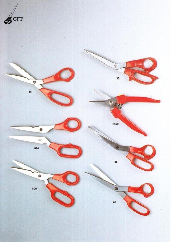 forbici professionali di varia dimensione 11