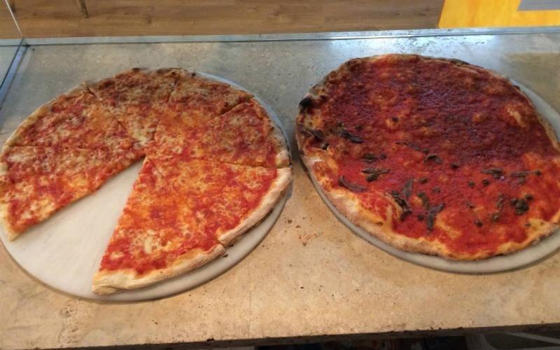 Pizze al trancio