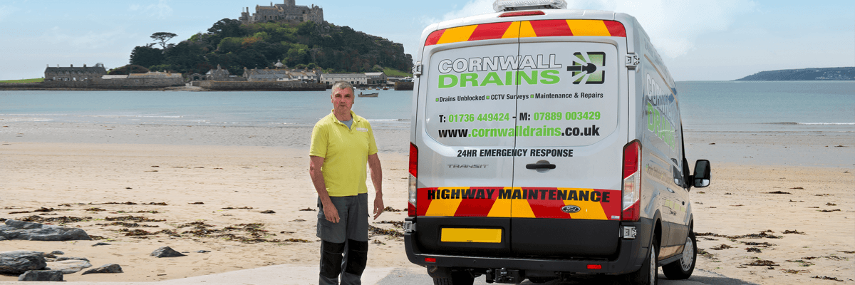 Cornwall Drains at St. Michael's Mount