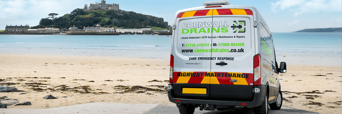 Cornwall Drains at St Michael's Mount