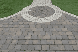 For a new patio, call 0800 458 4175