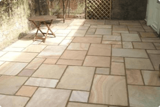 Indian sandstone paving slabs specialists