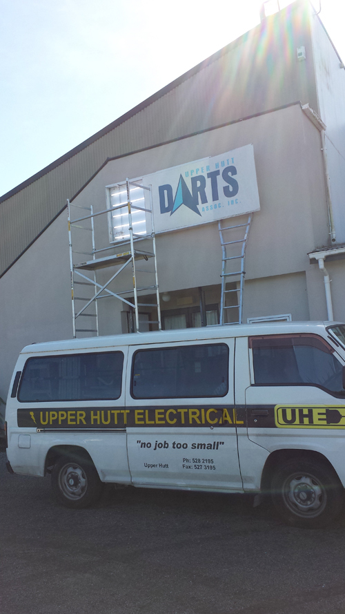 Upper Hutt Electrical Van