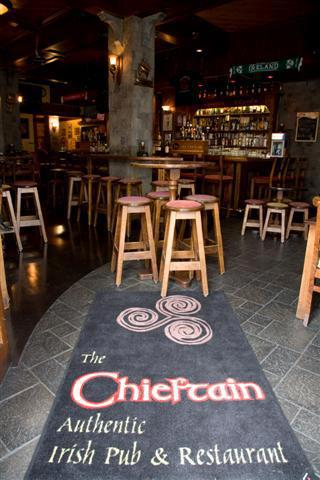 Irish Whiskey in San Francisco, CA - The Chieftain Irish Pub & Restaurant