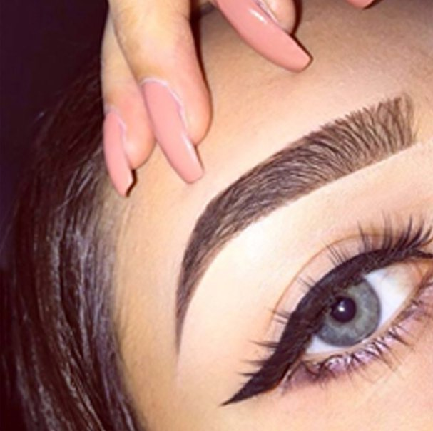 Example of Hi Definition brows