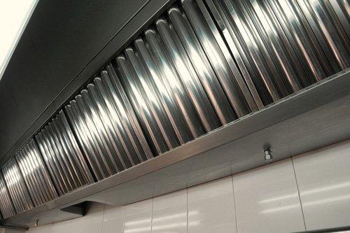 Cappa cucina industriale