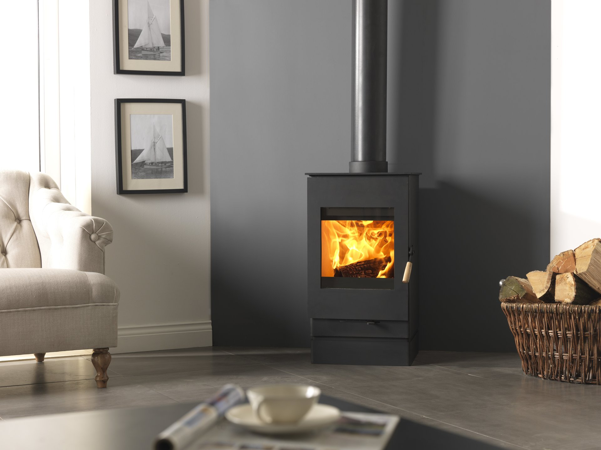 Efficient Wood Burning Stove Fireplaces