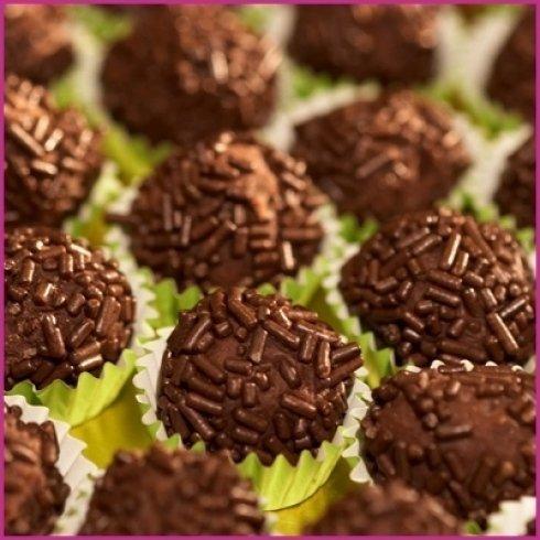 Pasticcini con granella di cacao