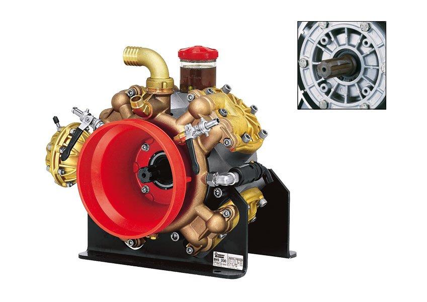 Motore di un impianto d'irrigazione automatizzato