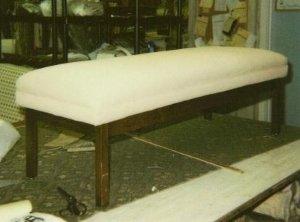 Furniture restoration work