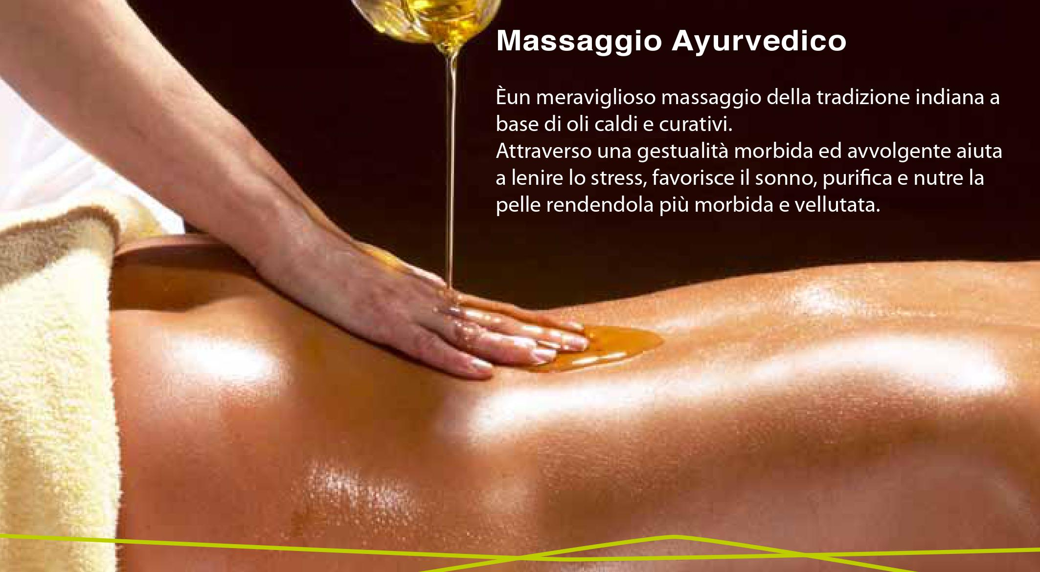massaaggio ayurvedico