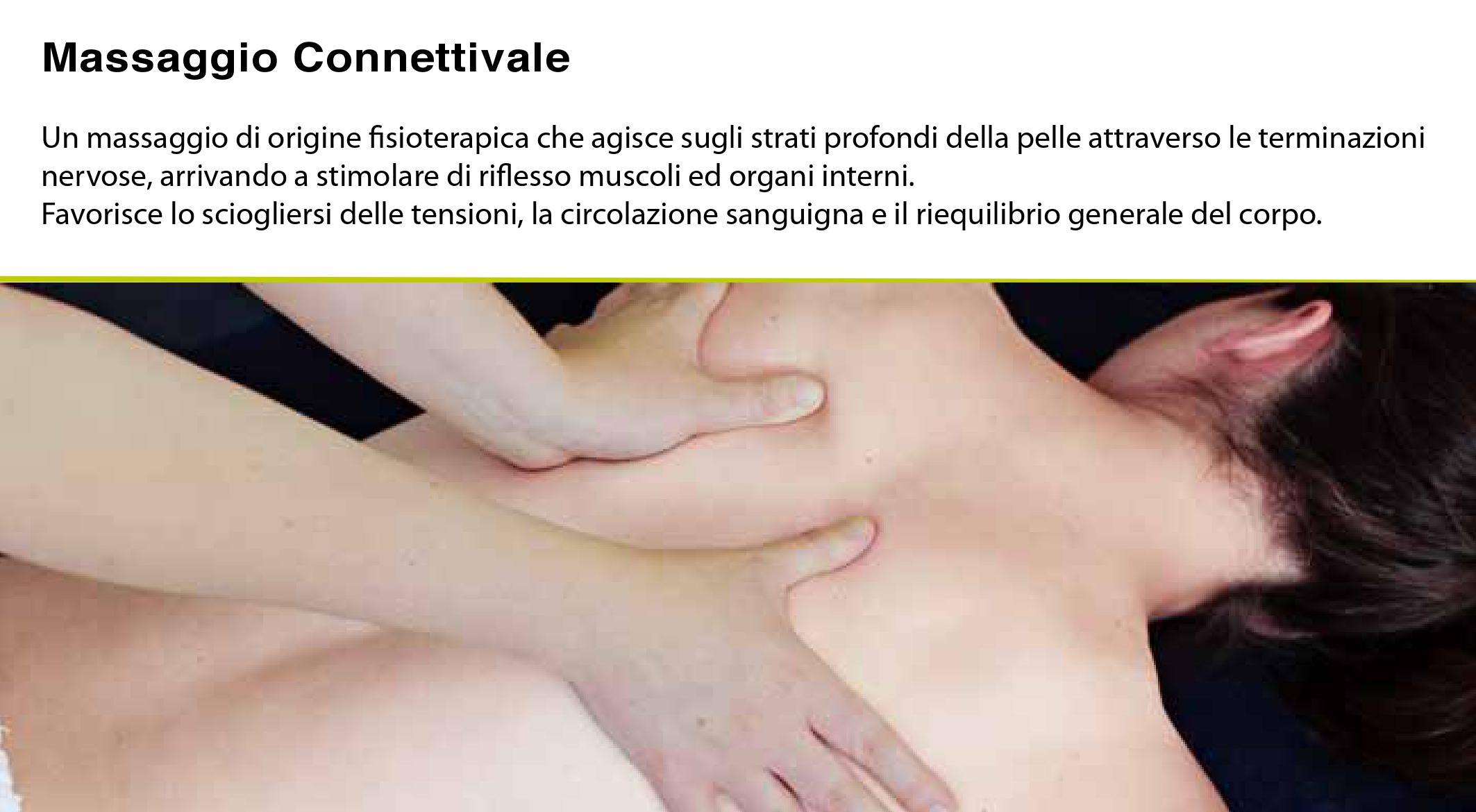 massagio Connettivale