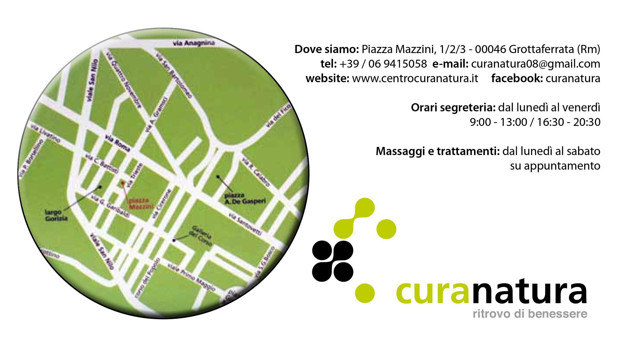 mappa logo di CURANATURA