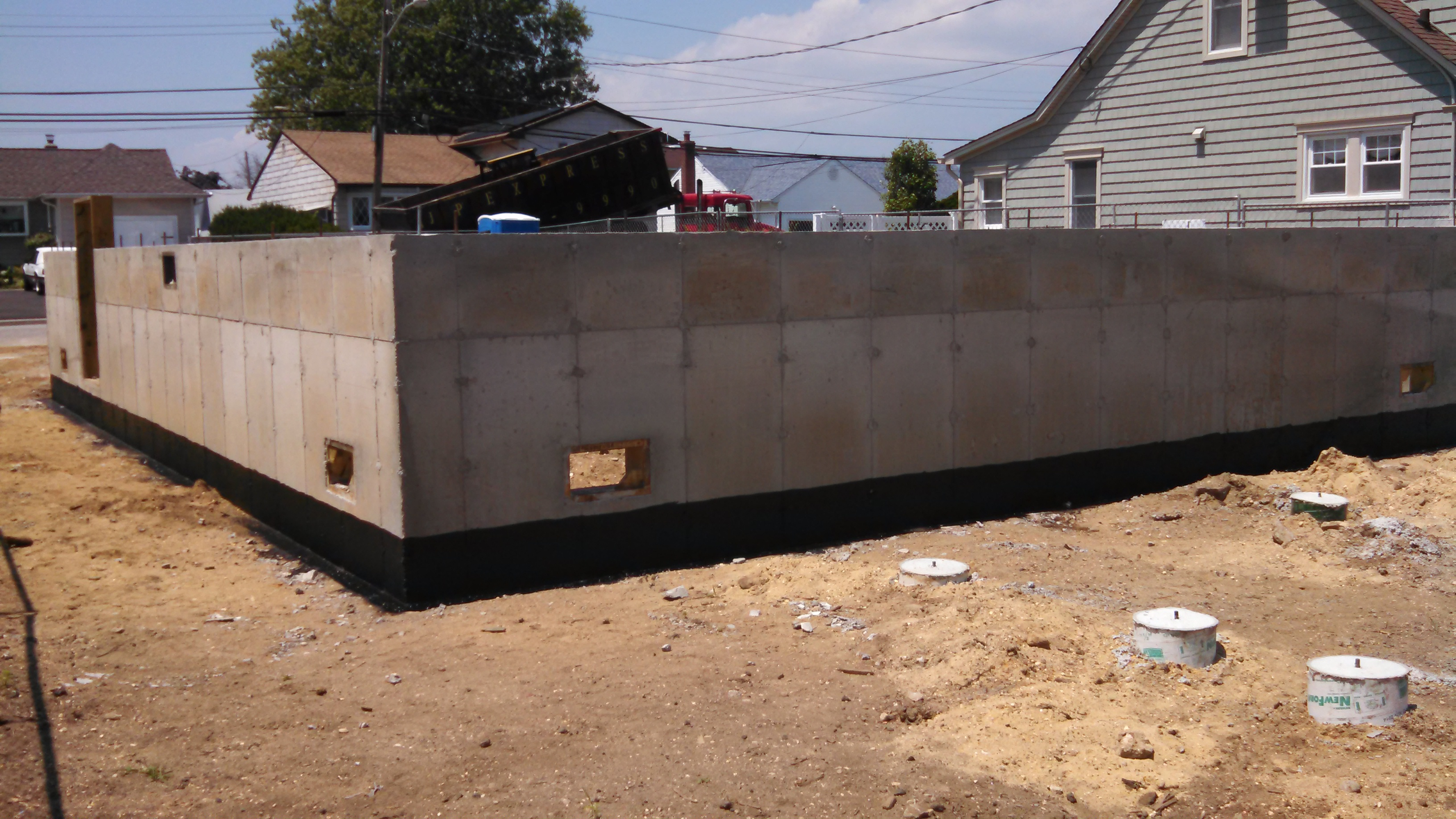 New Concrete Foundation Suffolk County, NY