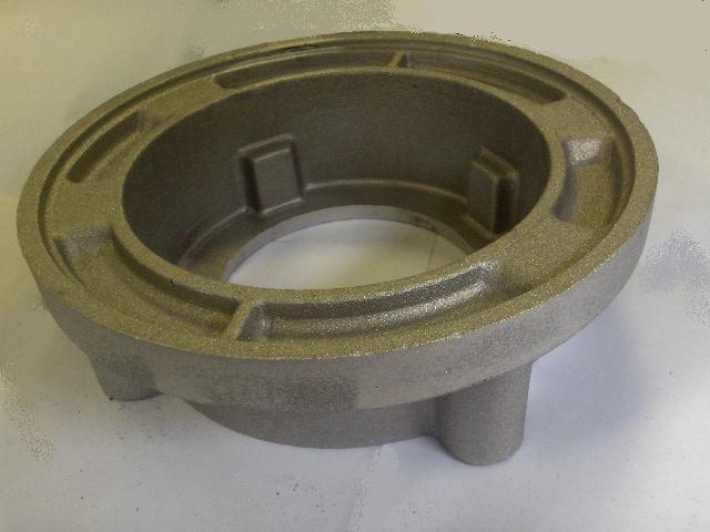 Oggetto metallico rotondo