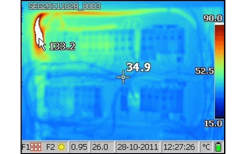 Thermo cameras used for thermal imaging in Geebung