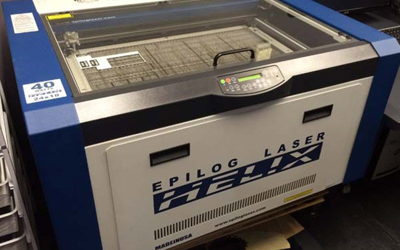 Our laser engraving machine in Geebung