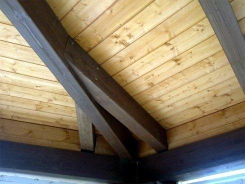 Travi interne in legno