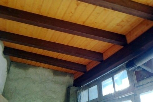 Realizzazione di solaio con travi in legno