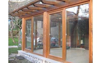 produzione verande in legno