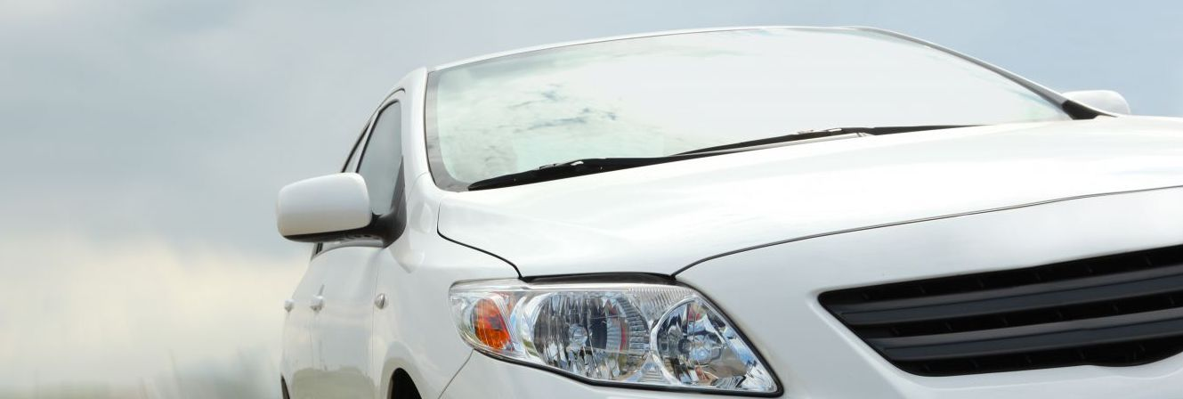 Car driving after receiving smash repairs in Wellington