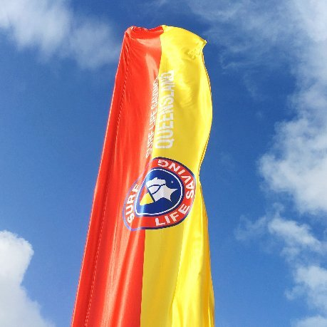 Surf Life Saving Queensland Flag