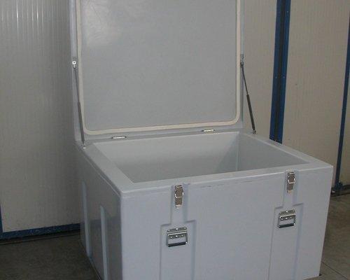 Dettaglio contenitore isotermico iso400