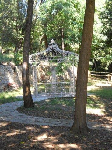 Gazebo nel parco