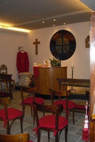 Cappella per funzioni religiose