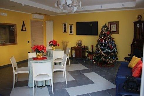 Sala per visite familiari
