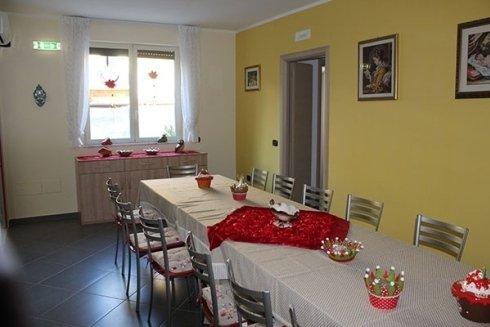 Sala per pranzo e cena