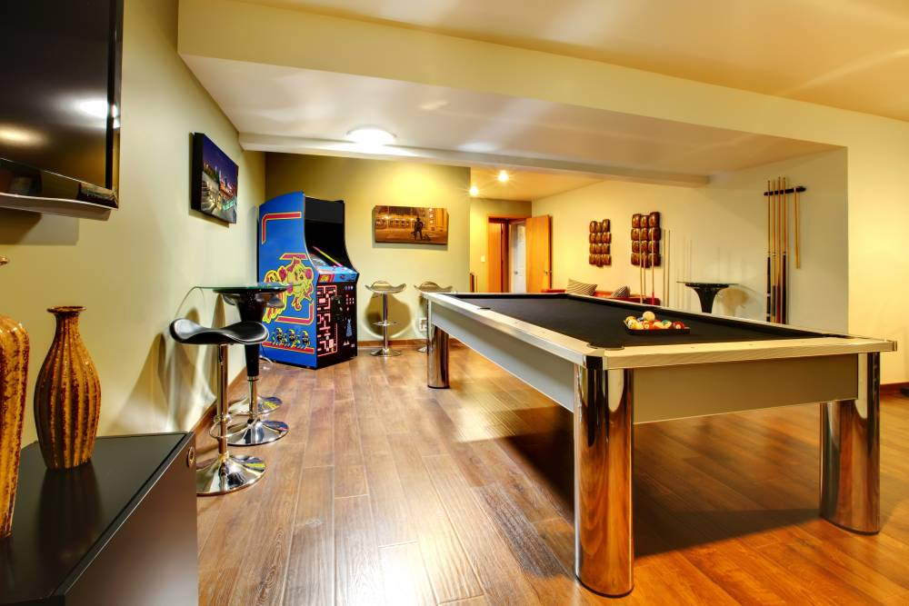 Recreational room game tables equipment