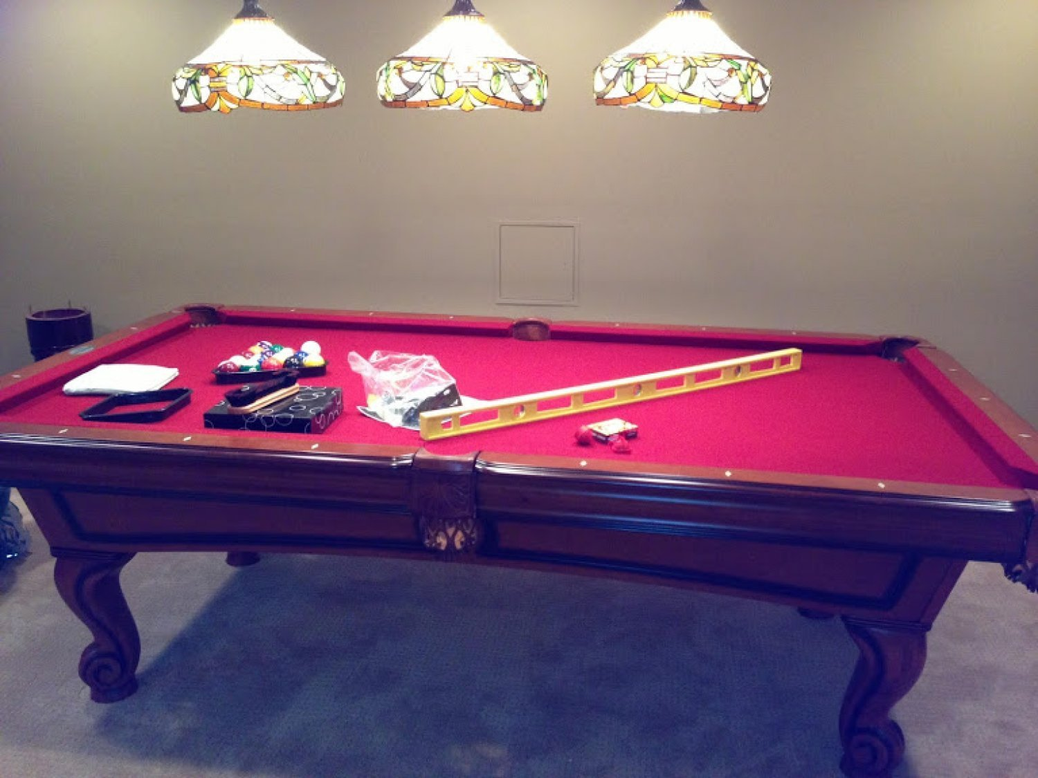 Pool Table Disassembly Service