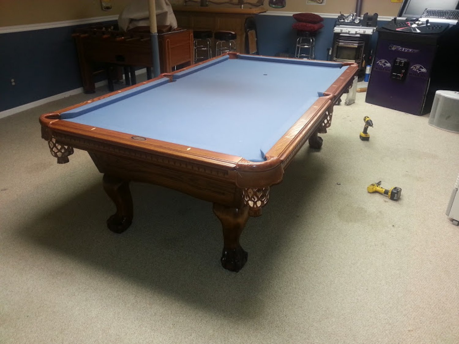 Beau Pool Table Refelt