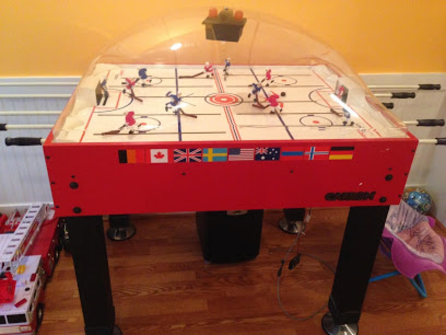 Hockey Table Assembly