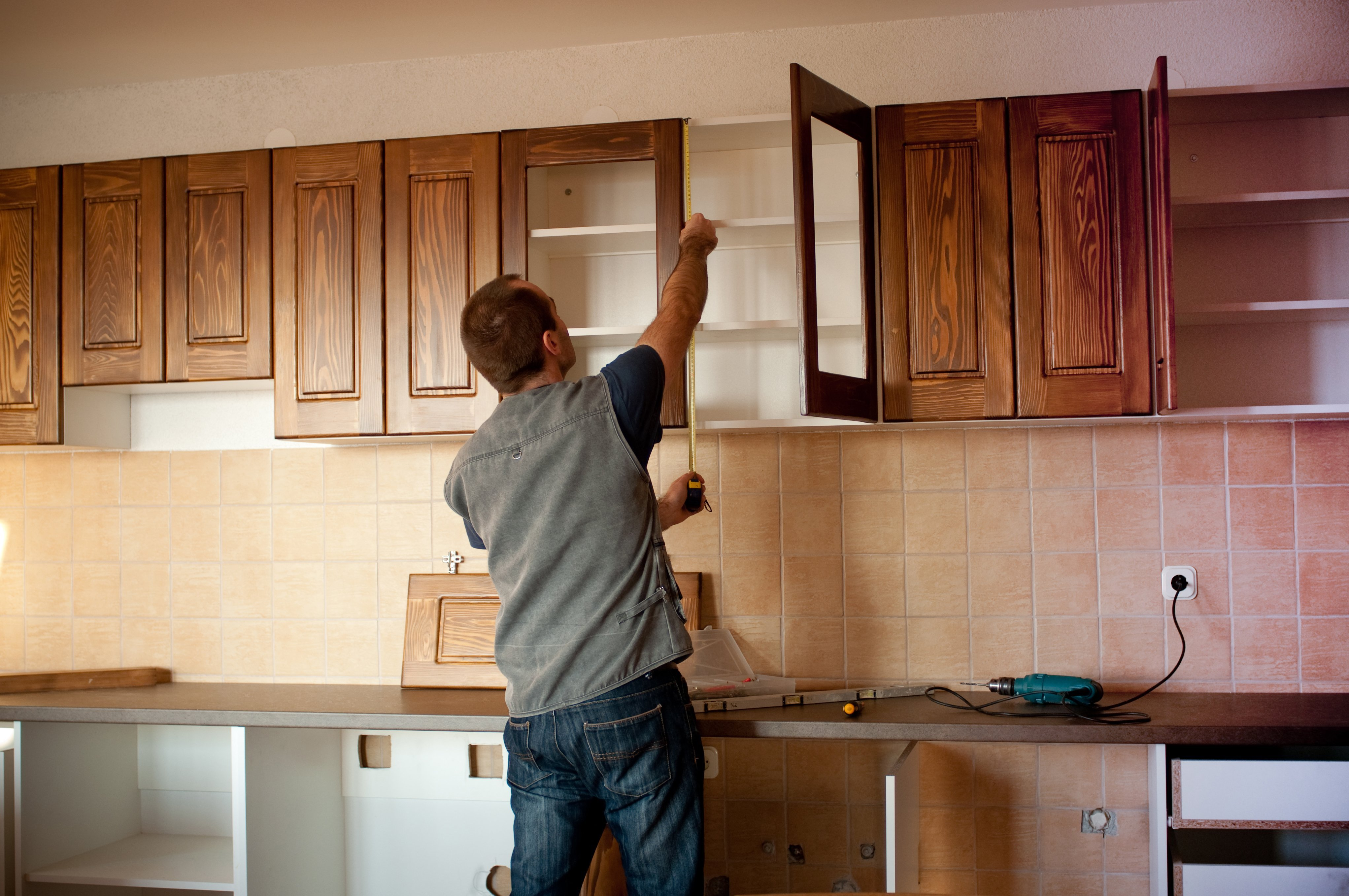Kitchen Cabinets Disassembly