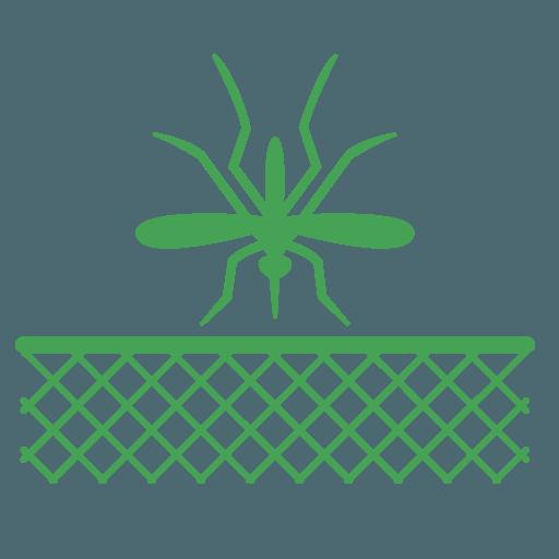 Icona di una zanzariera