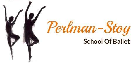 Perlman Stoy school of ballet logo