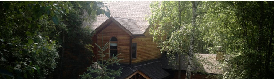 Beautiful wooden roofing in Anchorage, AK