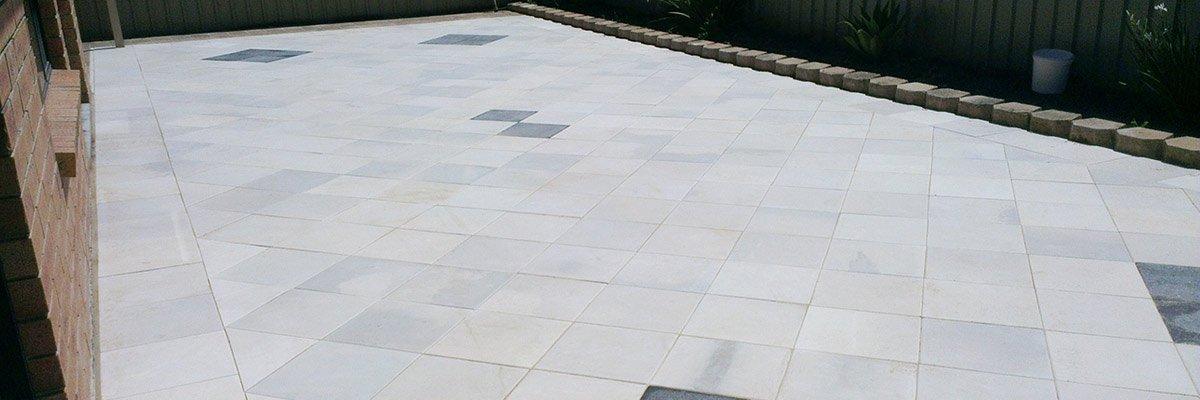 cement tile work