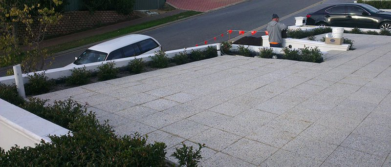 antony cement paving after