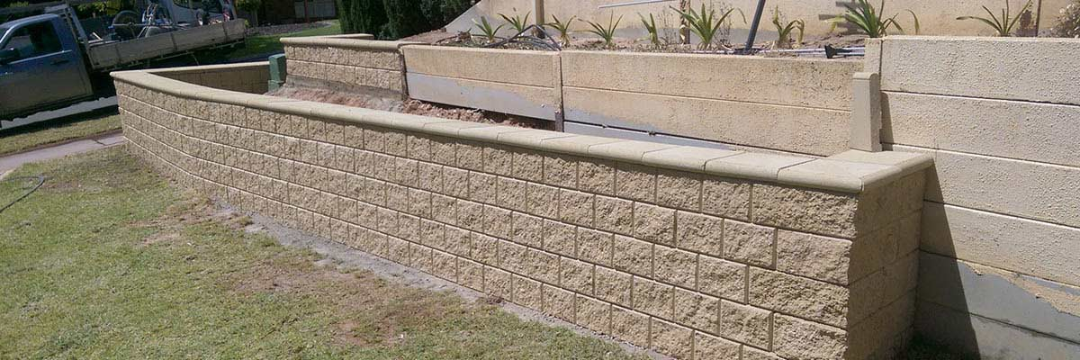 Paving contractors in adelaide for Retaining wall contractors adelaide