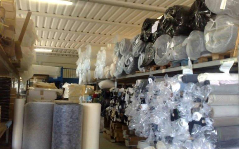 produzione teli di cotone