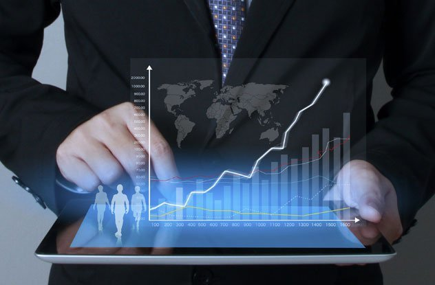 Company performance graph