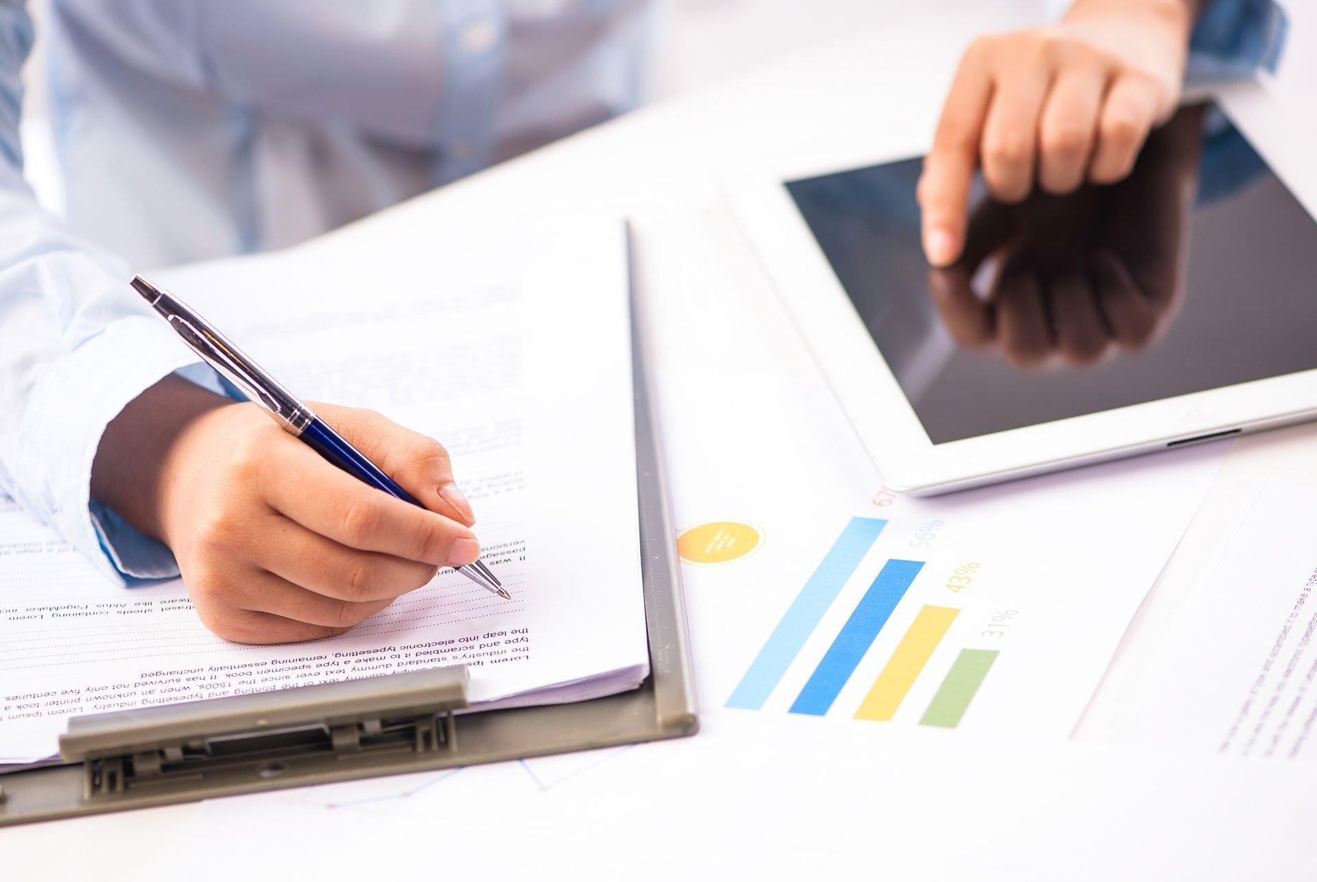 individual validating company performance