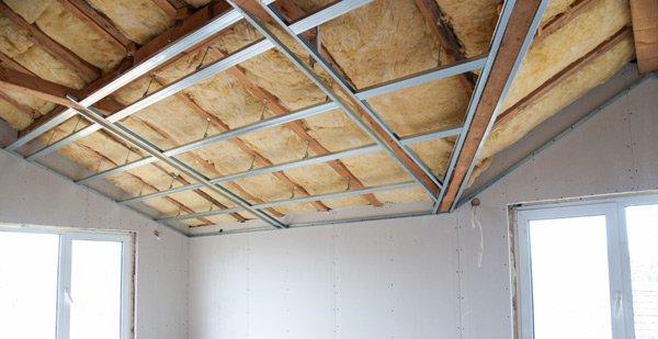 Isolamento del soffitto a Recco