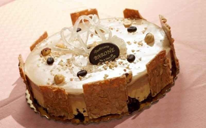 torta con croccante